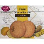 ginger lemon biscuits