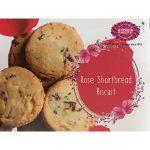 rose short bread biscuit
